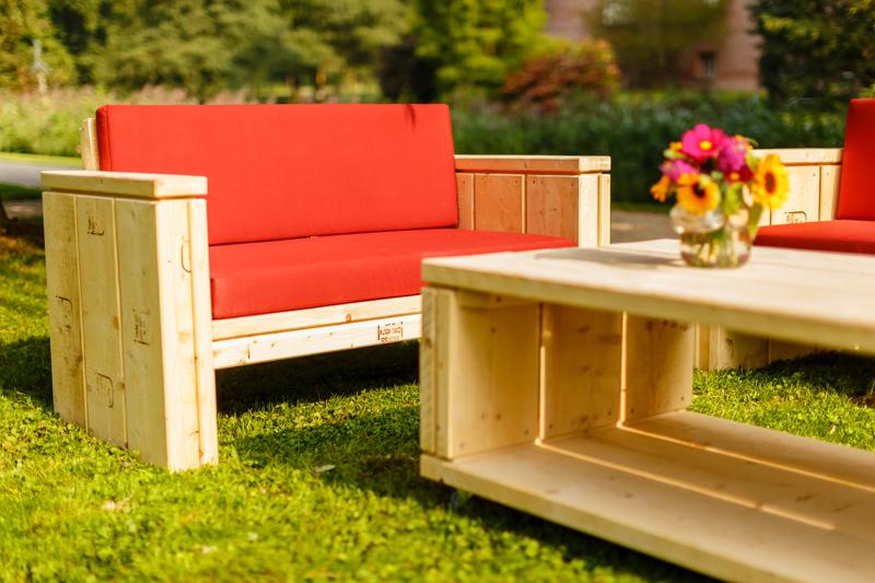 Lounge-Sofa Sylt als 2-Sitzer