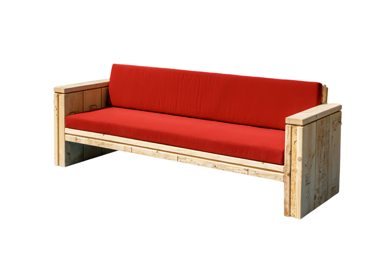 Polster Loungesofa Sylt 3-Sitzer