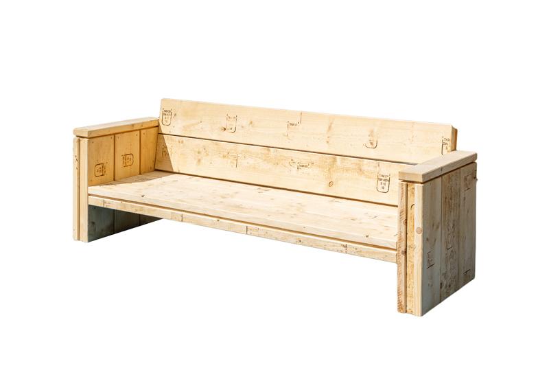 Lounge-Sofa Sylt als 3-Sitzer